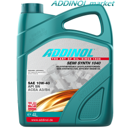ADDINOL SEMI SYNTH 1040 4л
