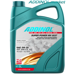 ADDINOL SUPER POWER MV 0537 5l