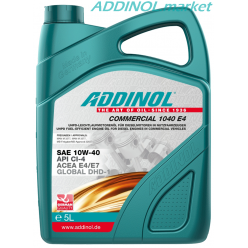 ADDINOL COMMERCIAL 1040 E4 5л