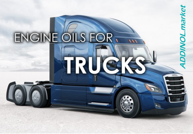 Motor oils for trucks